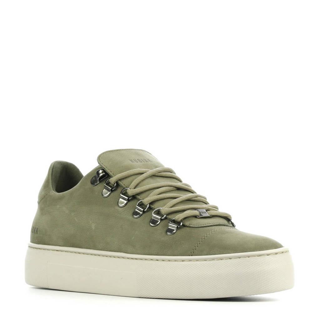 Nubikk Jagger Classic Nubuck  sneakers groen, Groen