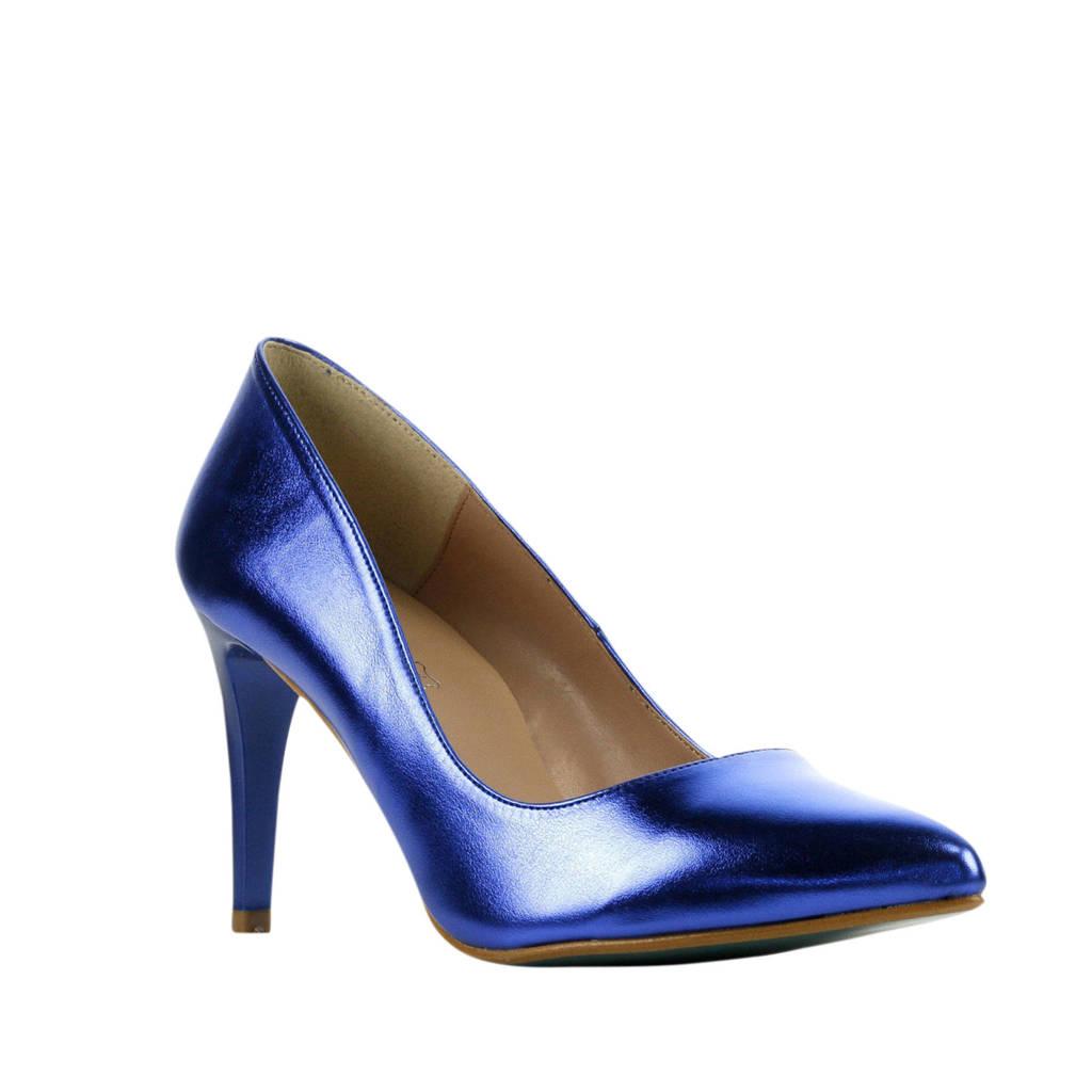Giulia Giulia 8  pumps blauw, blauw/metallic