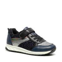 Scapino Blue Box   sneakers met glitters blauw, Blauw/zwart