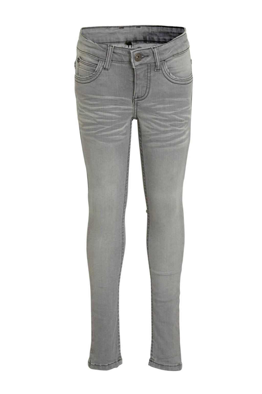 Quapi Girls regular fit jeans Josine grijs, Grijs