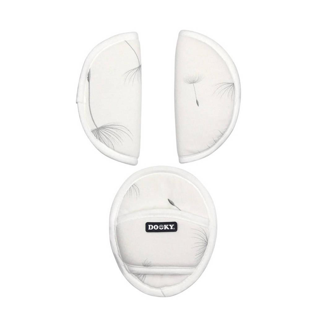 Dooky Universal Pads gordelbeschermers - Dandelion, Creme