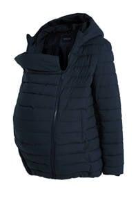 C&A Yessica gewatteerde zwangerschapjas winter donkerblauw - draagjas, Donkerblauw