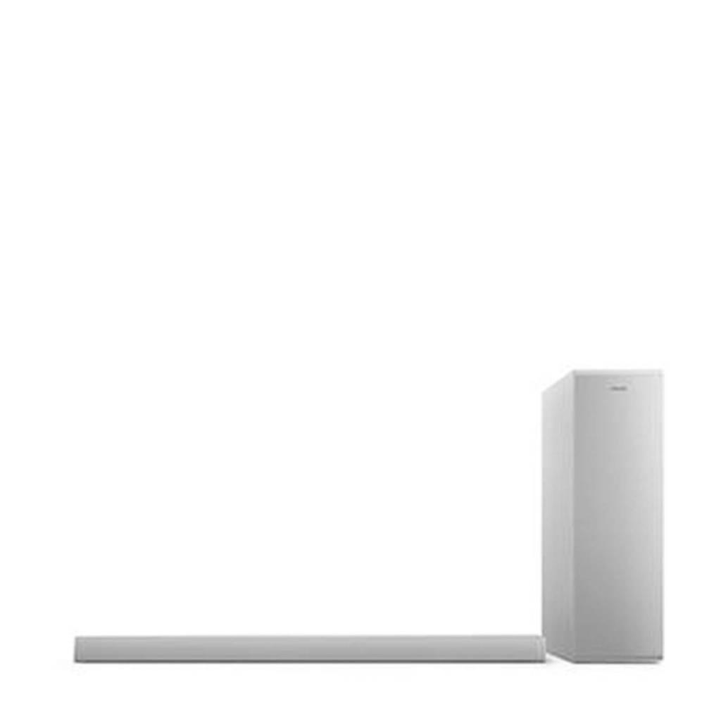 Philips TAB6405/10 soundbar (grijs), Zilver