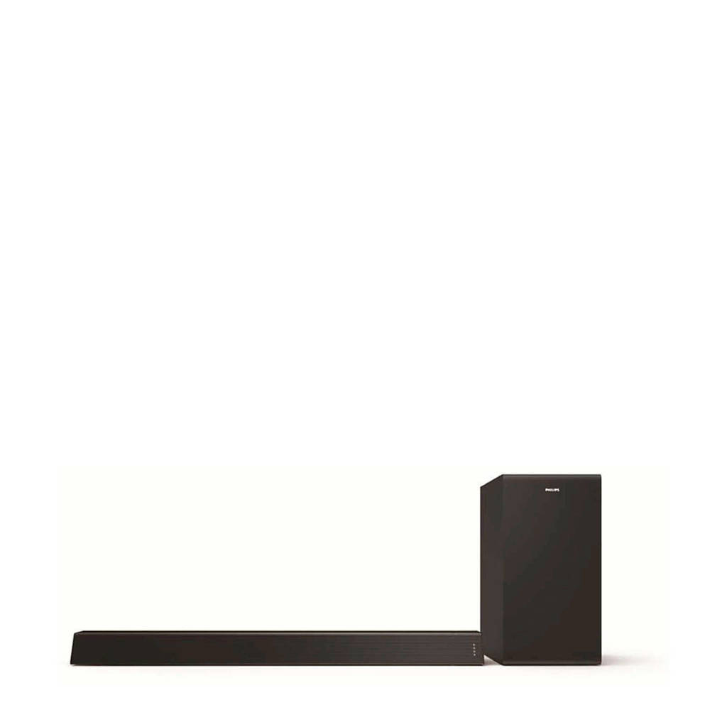 Philips TAB7305/10 soundbar, Zwart