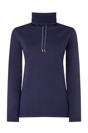 skipully Clime Halfzip donkerblauw