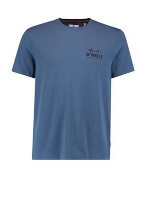 T-shirt Rocky Mountain blauw