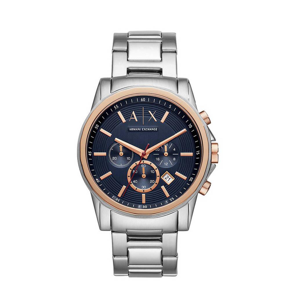 Armani Exchange horloge AX2516 Emporio Armani Zilver