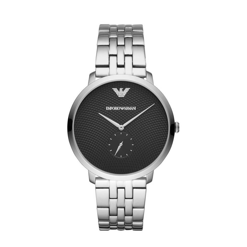 Emporio Armani horloge AR11161I Emporio Armani Zilver