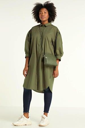 blousejurk groen