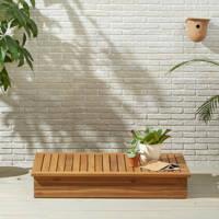 Wehkamp Home koffietafel Villena (120x80 cm), Teak