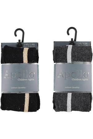 maillot - set van 2 zwart/grijs
