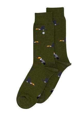 sokken Toucan kaki
