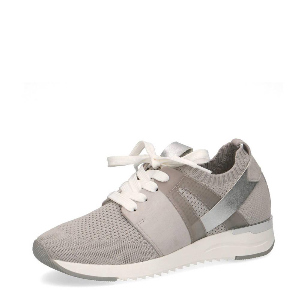Caprice Kaiafly  sneakers grijs, Grijs/zilver