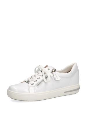 Manou  lakleren sneakers wit