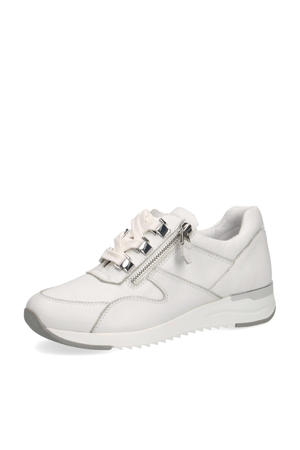 Kaia  leren sneakers wit