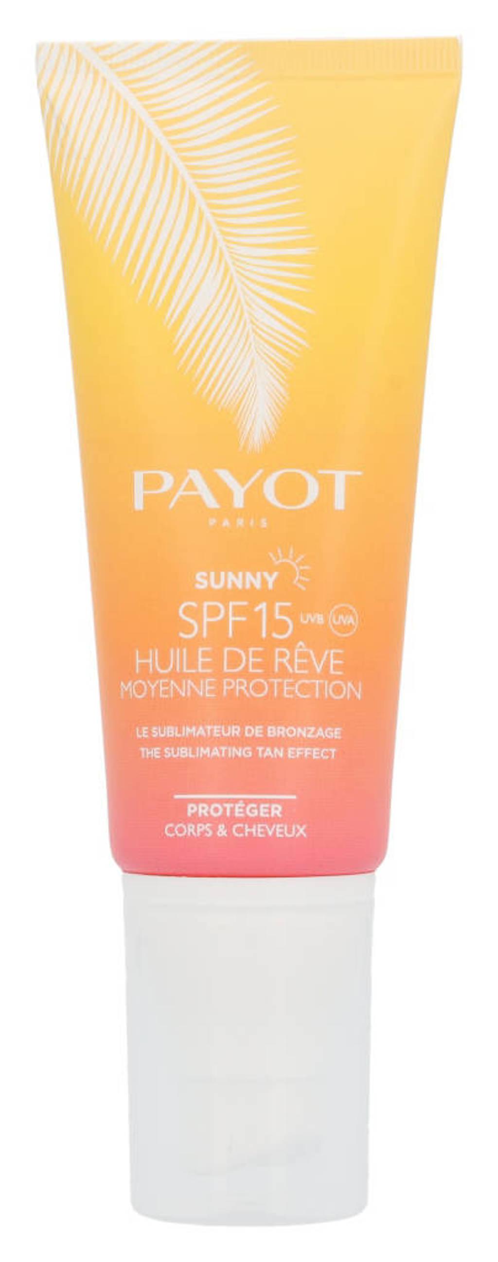 Payot Payot Sunny Huile De Reve zonnebrand - SPF15