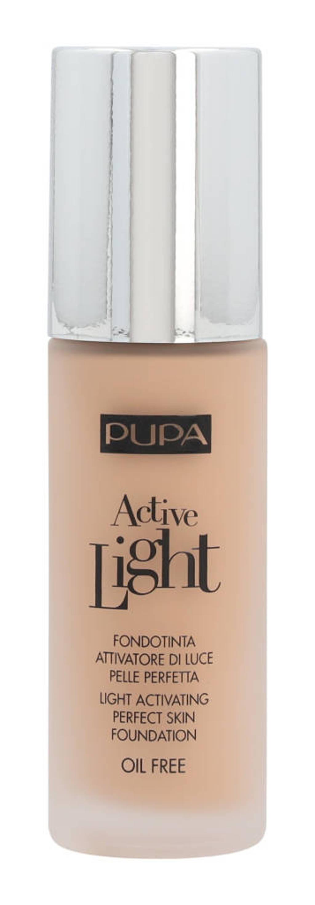Pupa Milano Active Light foundation - 010 Porcelain
