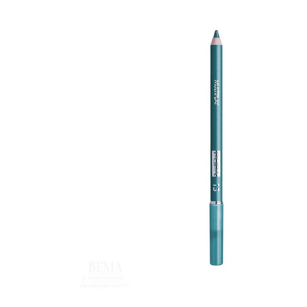 Pupa Milano Multiplay Pencil oogpotlood - 15 Blue Green