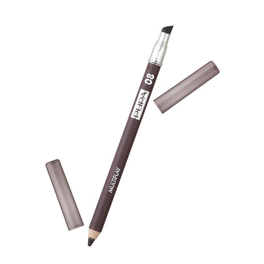 Pupa Milano Multiplay Pencil oogpotlood - 08 Basic Brun, 08 Baisc Brun