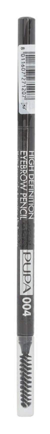 Pupa Milano High Definition Eyebrow Pencil oogpotlood - 004 Extra Dark