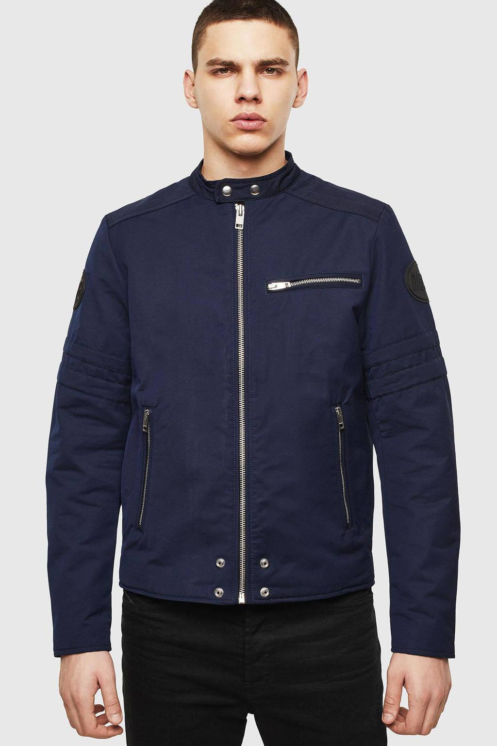 Diesel jas donkerblauw, Donkerblauw