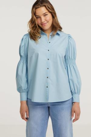 blouse Heidi lichtblauw