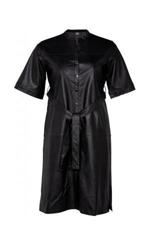 coated blousejurk DYLAN  zwart