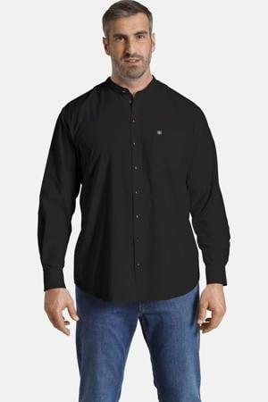 regular fit overhemd Plus Size KALLU Plus Size zwart