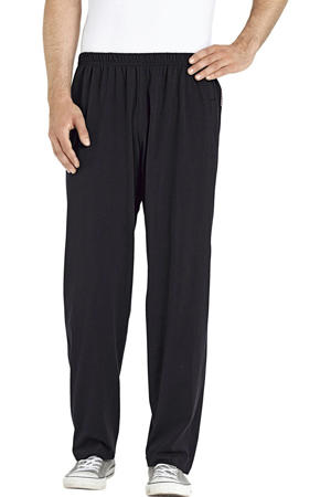 Plus Size pyjamabroek zwart