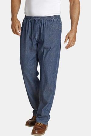 loose fit joggingbroek Plus Size Daan blauw