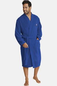 Jan Vanderstorm Plus Size badstof badjas JANNING blauw, Blauw