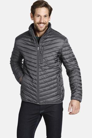 licht gewatteerd jack Plus Size Dankrad grijs