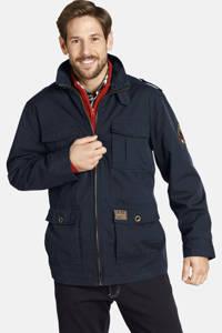 Jan Vanderstorm jas Plus Size Bror donkerblauw, Donkerblauw