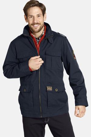 jas Plus Size Bror donkerblauw