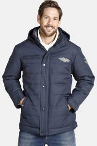 Jan Vanderstorm jas Plus Size Juhapekka donkerblauw, Donkerblauw