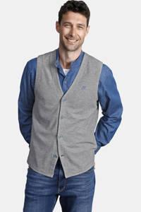 Jan Vanderstorm oversized colbert + gilet (set van 2) Plus Size HELLFRIED grijs melange, Grijs melange