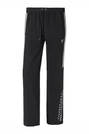 joggingbroek Plus Size zwart/grijs