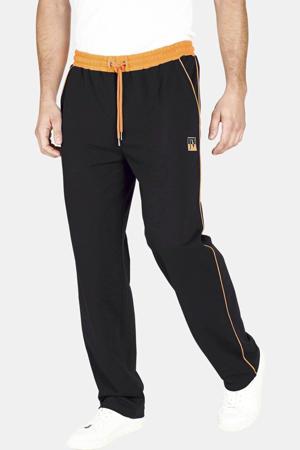 joggingbroek Plus Size zwart/oranje