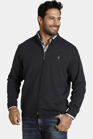 oversized fit vest Agner donkerblauw