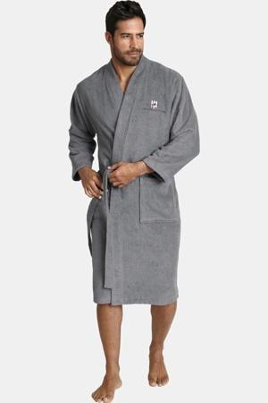 Plus Size badstof badjas JANNING grijs