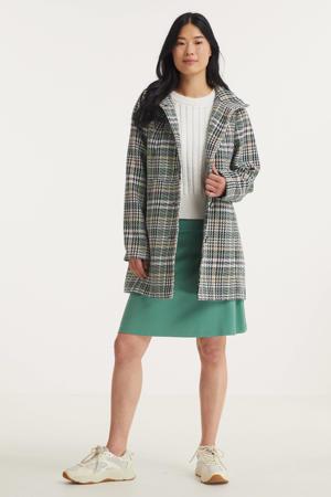 geruite  coat groen