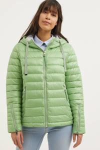 Street One gewatteerde jas groen, Groen