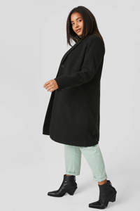 C&A XL Yessica coat tussen zwart, Zwart
