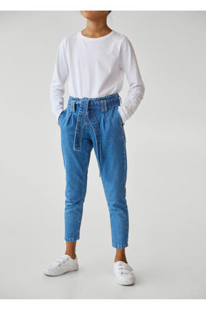 loose fit jeans changeant blauw