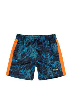 zwemshort Xinoo blauw/oranje