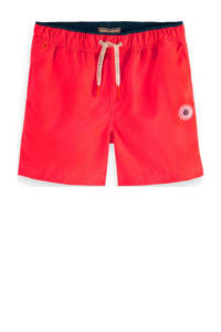Scotch & Soda zwemshort met magic print rood, Rood