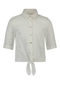 AI&KO blouse Cyli wit, Wit