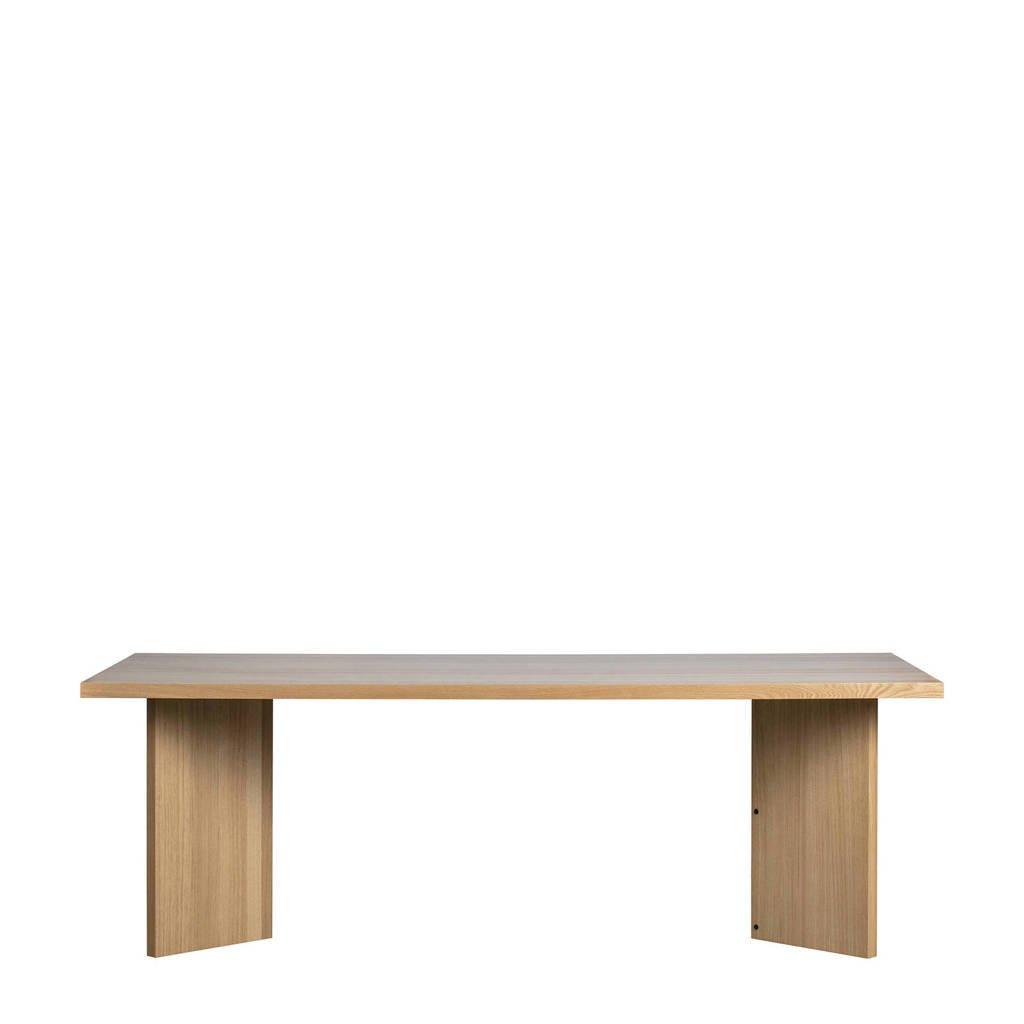vtwonen eetkamertafel Angle (90x220 cm), Blank