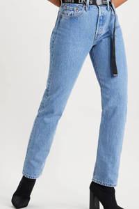 Levi's 501 JEANS FOR WOMEN regular fit jeans luxor indigo, LUXOR INDIGO
