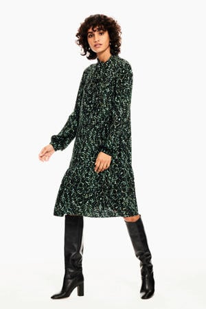 jurk met all over print 2650-pine grove